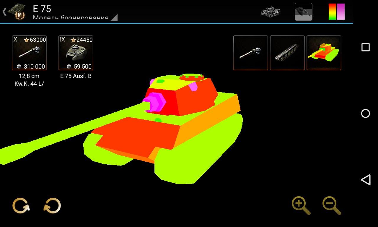 Модель бронирования танка. База знаний для World of Tanks