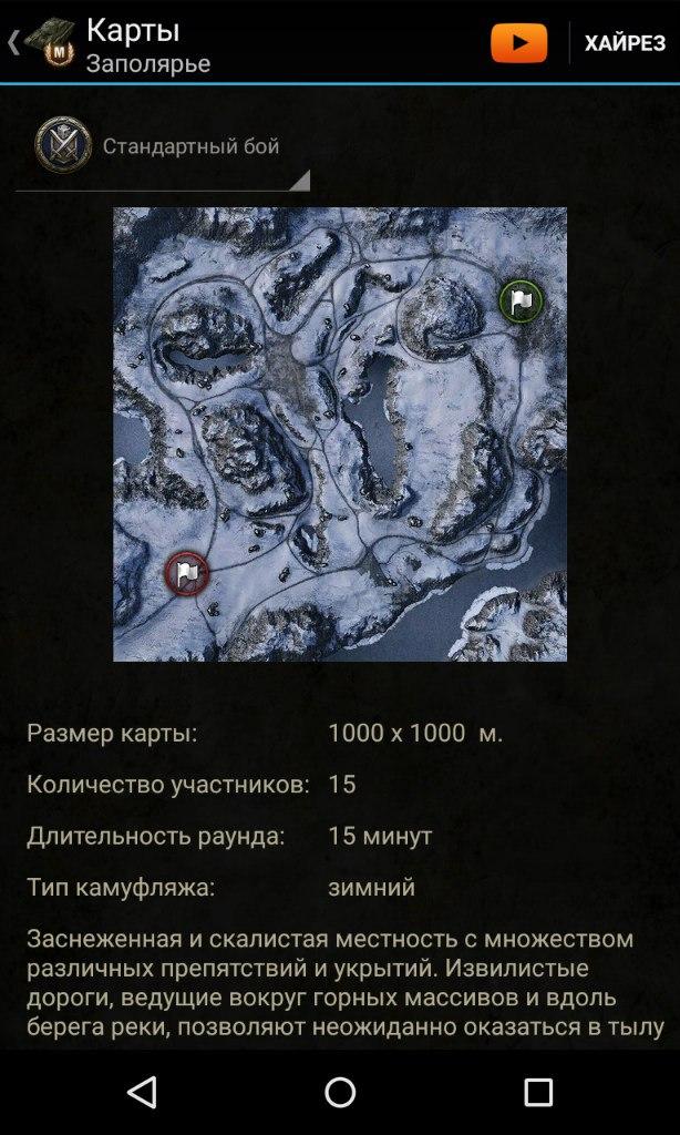 Игровая карта. База знаний для World of Tanks