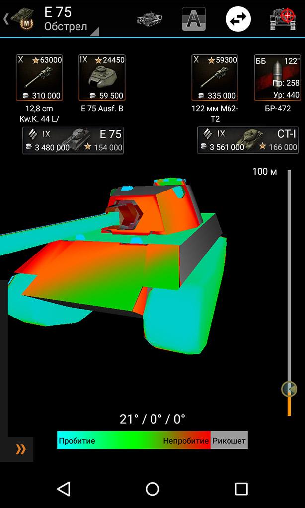 Виртуальный обстрел одного танка другим. База знаний для World of Tanks