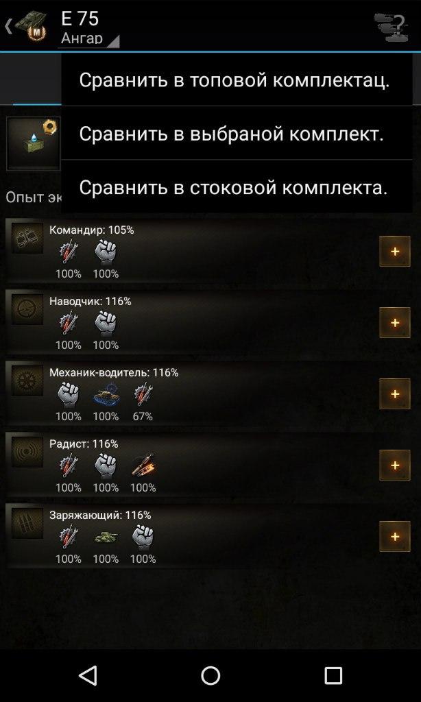 Подробные характеристики танка в зависимости от оборудования и экипажа. База знаний для World of Tanks